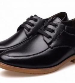 HTB1YDhkLpXXXXXMXVXXq6xXFXXXr 1 e1478433404784 250x275 - LBOS - Black - Casual Leather Shoes 6cm Taller