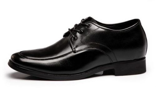 HTB1yqPiMVXXXXbfaXXXq6xXFXXXN 1 1 - GLBM - Black - Business Leather Shoes 6cm Taller