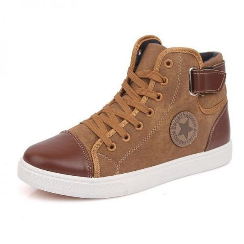 New-2015-Autumn-Winter-Shoes-For-Men-Casual-Shoes-Canvas-Fashion-High-Top-Men-Footwear-High