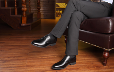 msia 7cm taller formal attixshoes black 3 400x252 - MSIA - Formal Leather Shoes 6cm Taller