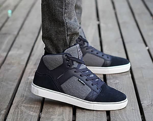 ylg qi blue 8 1 - YLG QI - Elevator Suede Canvas Shoes 7cm Taller