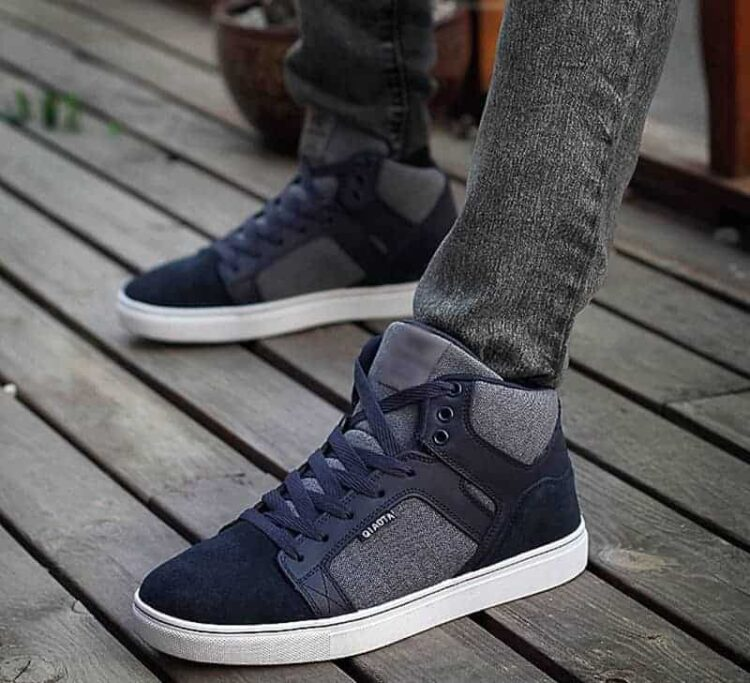 ylg qi blue 9 1 750x683 - YLG QI - Elevator Suede Canvas Shoes 7cm Taller