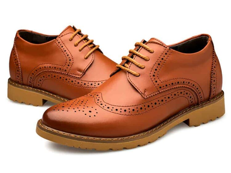 MIGL EL Tango 1 750x560 - MIGL - Brogue Handmade Leather Shoes 8cm Taller