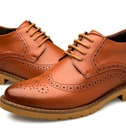 MIGL EL Tango 250x275 - MIGL - Brogue Handmade Leather Shoes 8cm Taller