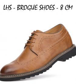 LHS BEIGE BROGUE MAIN ATTIXSHOES 250x275 - LHS - Brogue Shoes 8cm Taller