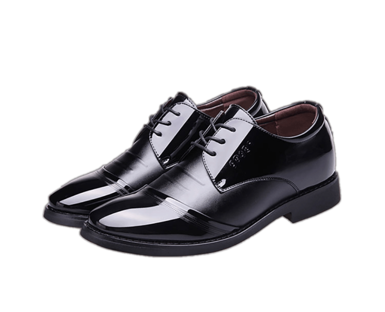 ELPT 6CM INCREASE BLACK 1 1 750x607 - ELPT - Elegant Leather Shoes - 6cm Taller