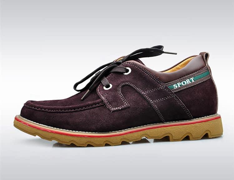 suede brown 1 1 750x577 - YTL - Suede Shoes 6cm