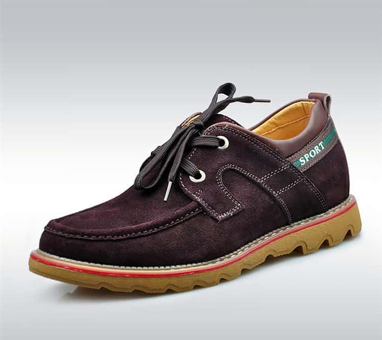 suede brown 2 1 750x667 - YTL - Suede Shoes 6cm