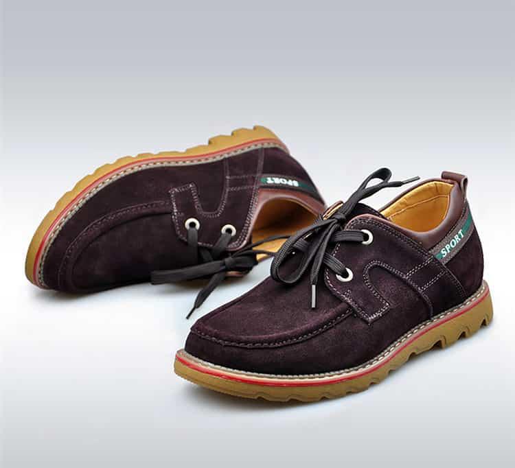 suede brown 6 1 750x682 - YTL - Suede Shoes 6cm