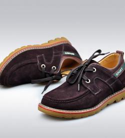 suede brown 6 250x275 - YTL - Suede Shoes 6cm
