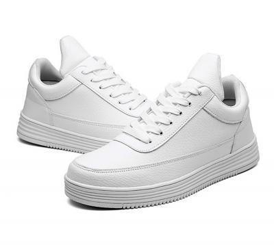 white canvas 9cm 1 400x358 - CNDW - Canvas Elevator Shoes - 8cm Taller
