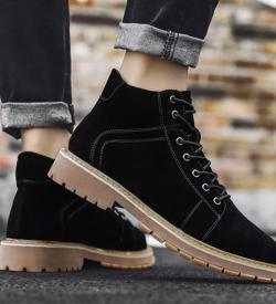 SUEL Black 10cm 1 250x275 - SUEL- 8cm Taller Boots