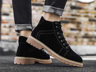 SUEL Black 10cm 1 400x304 - SUEL- 8cm Taller Boots