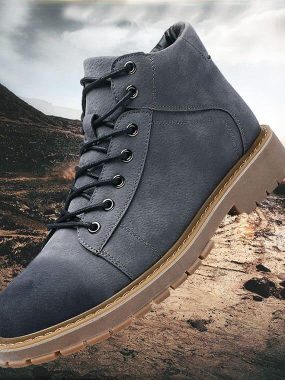 SUEL Gray 10cm 1 1 570x760 - SUEL- 8cm Taller Boots