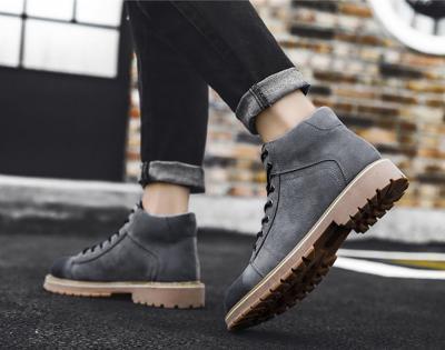 SUEL Gray 10cm 2 400x315 - SUEL- 8cm Taller Boots