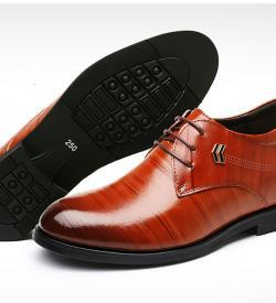 TXFS 8cm Brown 2 250x275 - TXFS Leather Shoes 8cm Taller