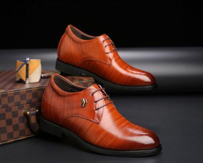TXFS 8cm Brown 5 400x321 - TXFS Leather Shoes 8cm Taller